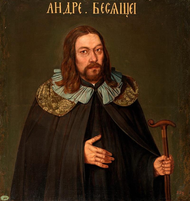 Андрей Матвеевич Апраксин, портрет из Преображенской серии