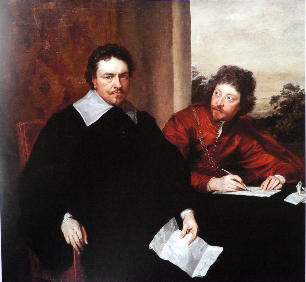 Антонис Ван Дейк «Двойной портрет Томаса Уэнтуорта и секретаря Зейна сэра Филиппа Мейнуоринга»