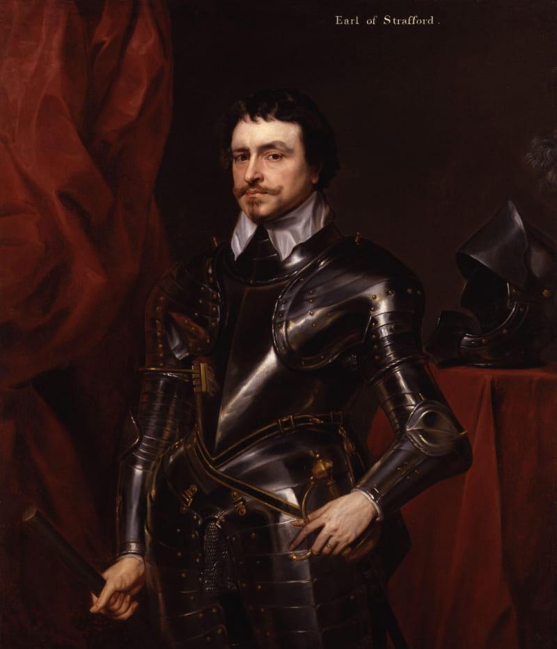 Антонис Ван Дейк «Портрет Томаса Уэнтуорта, 1-й графа Страффорда»