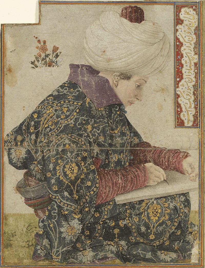 Джентиле Беллини «Писарь при дворе»