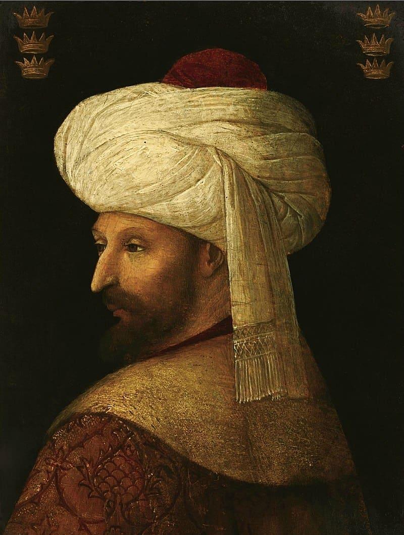 Джентиле Беллини «Портрет Мехмеда II»