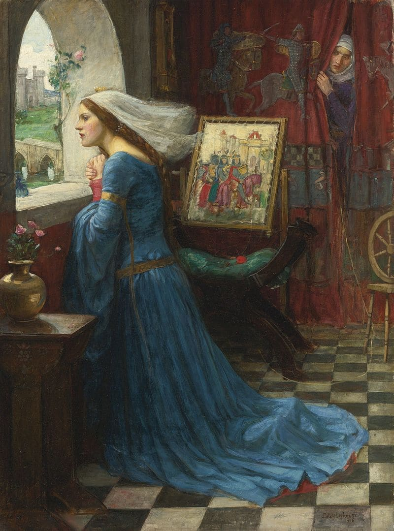 Джон Уильям Уотерхаус «Розамунда Клиффорд в ожидании короля»