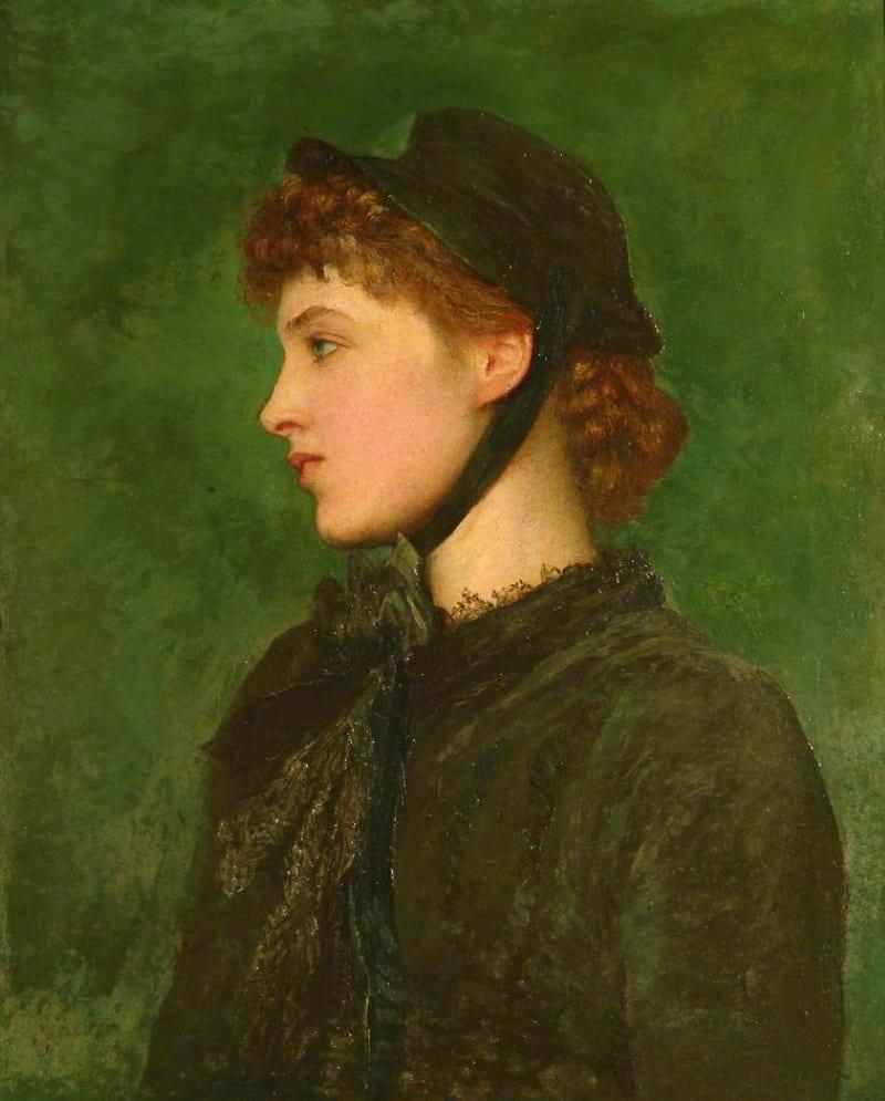Джордж Фредерик Уотс «Портрет миссис Лилли Лэнгтри», 1880 год