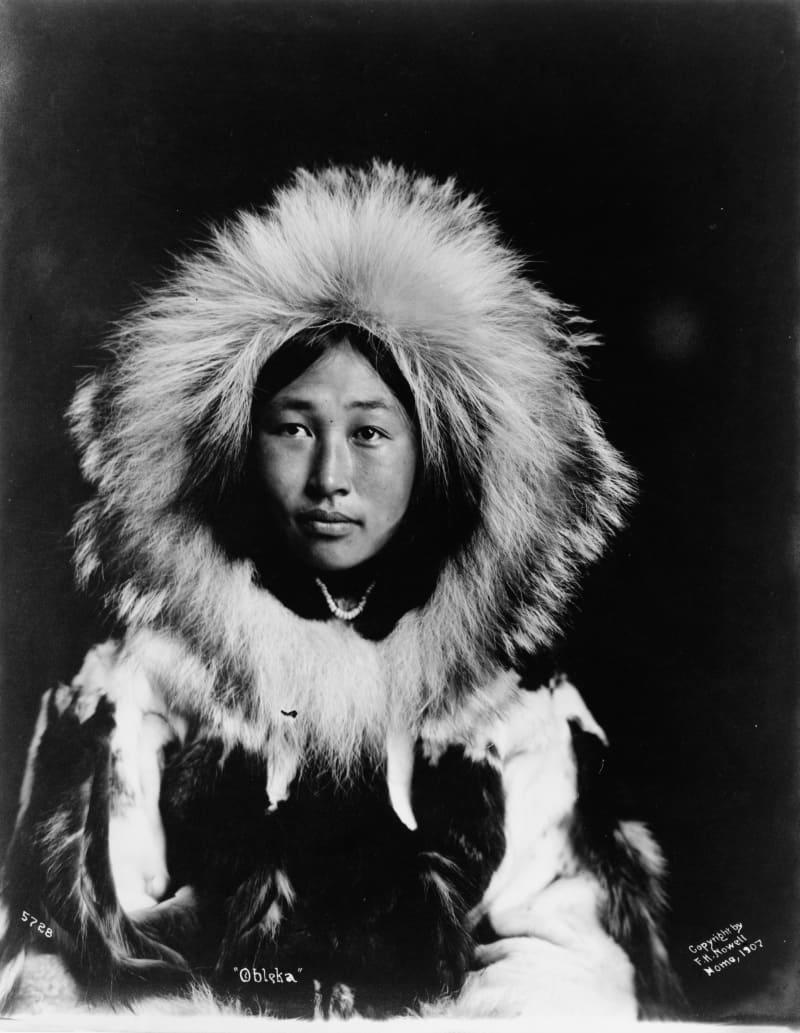 Эскимосская женщина, 1907 год