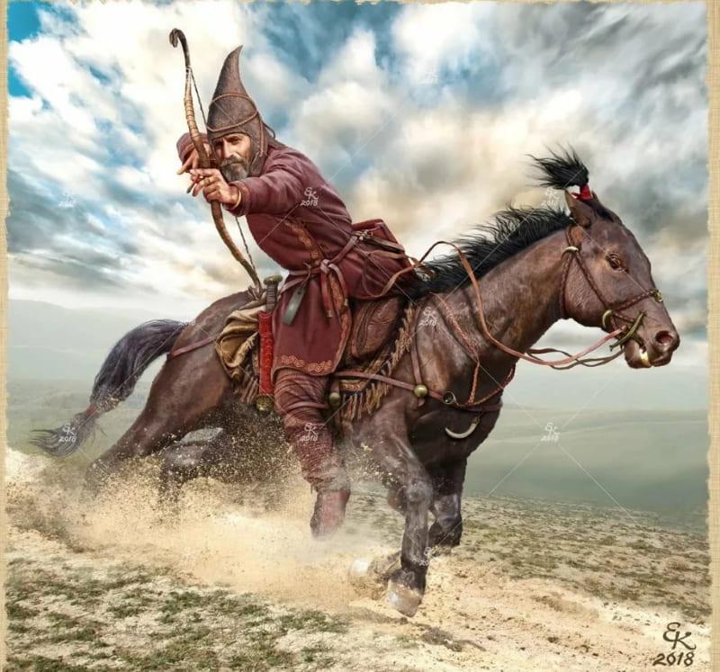 Евгений Край «Сака-тиграхауда. Южное Приаралье. VI век до н.э.»