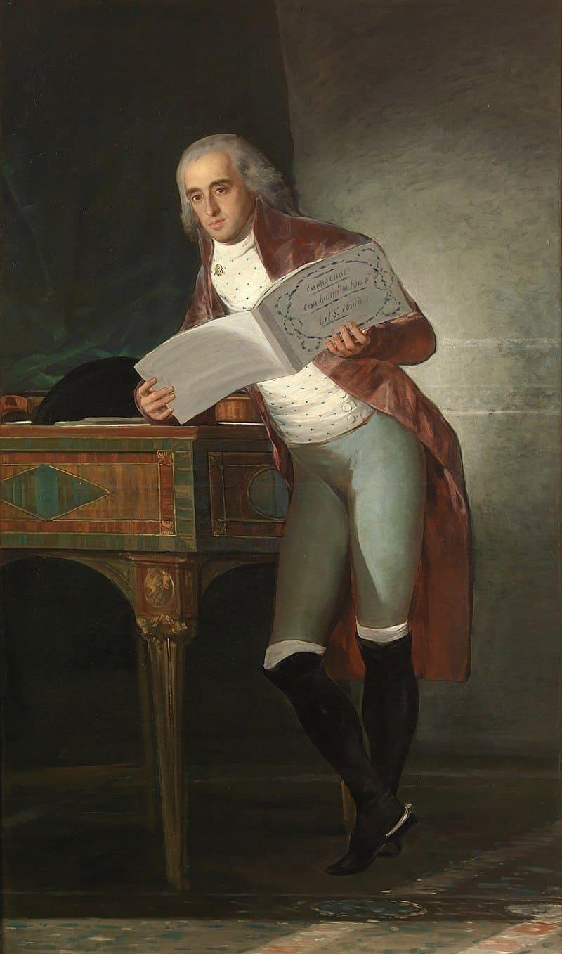 Франциско Гойя «Герцог Альба», муж Каэтаны