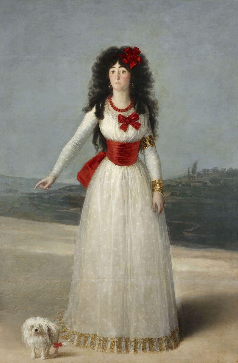 Франсиско Гойя «Портрет герцогини Альба»