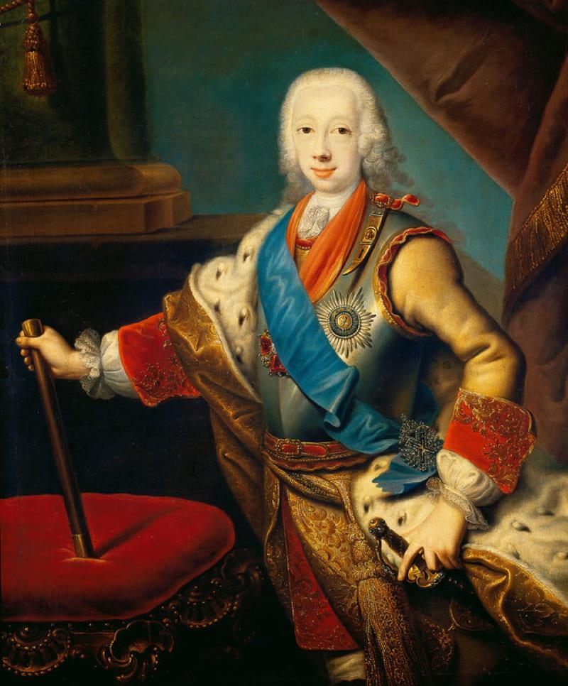 Георг Кристоф Гроот «Портрет 15-летнего Петра III»