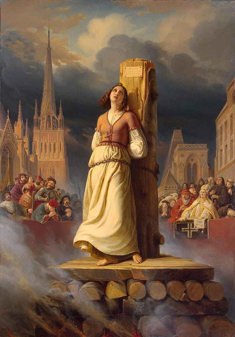 Герман Штильке «Правая часть триптиха - Жизнь Жанны д'Арк»