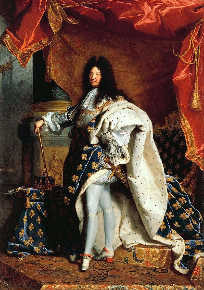 Гиацинт Риго «Портрет короля Франции Людовик XIV»