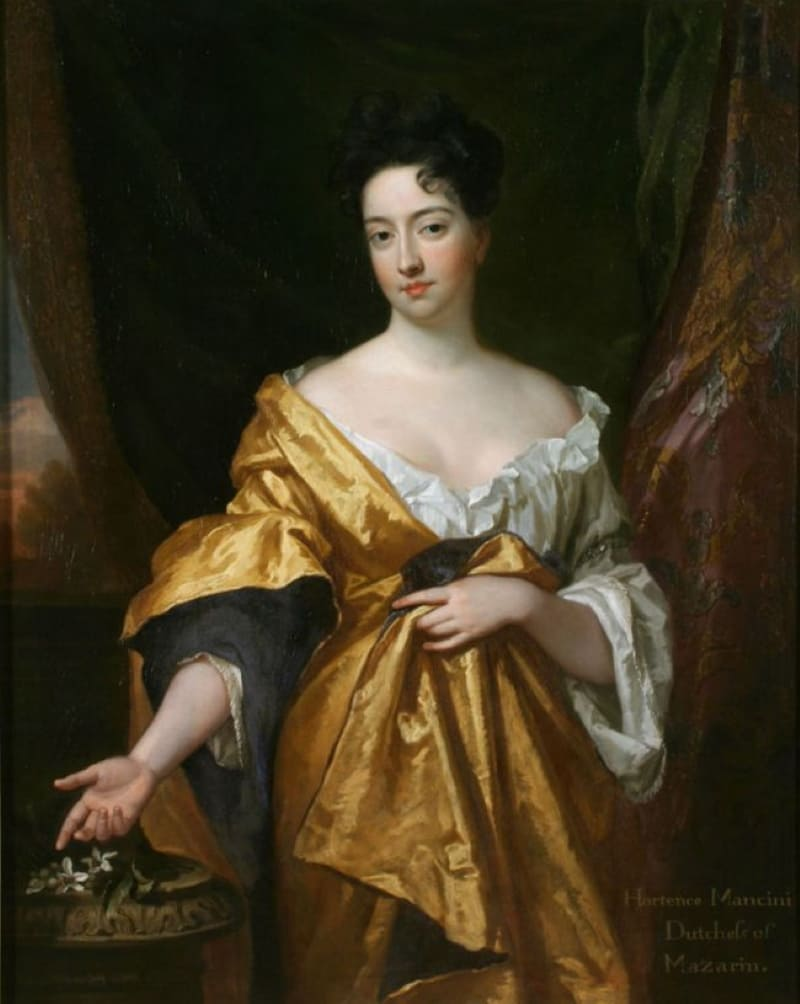 Годфри Кнеллер «Портрет Гортензии Манчини», 1681 год