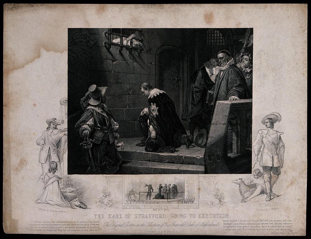Граф Страффорд идет на казнь