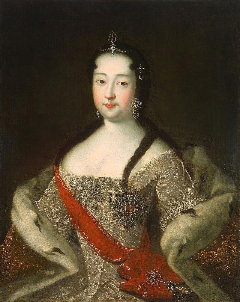 И. Г. Адольский«Цесаревна Анна Петровна после 1721 года»