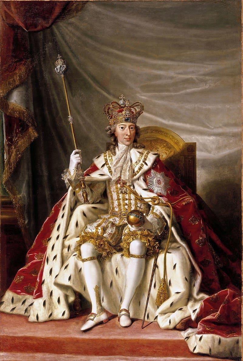 Иенс Юль «Портрет короля Кристиана VII Безумного»
