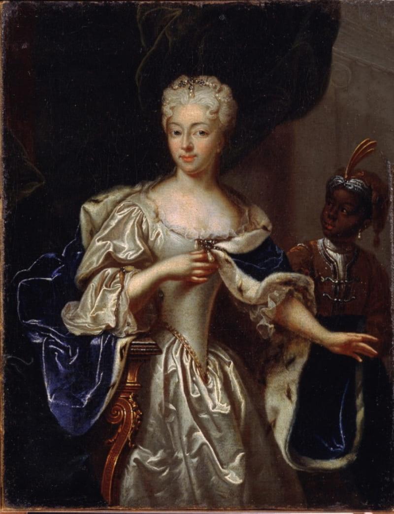 Иоганн Пауль Людден «Портрет Шарлотты Кристины Софии», жена Алексея Петровича
