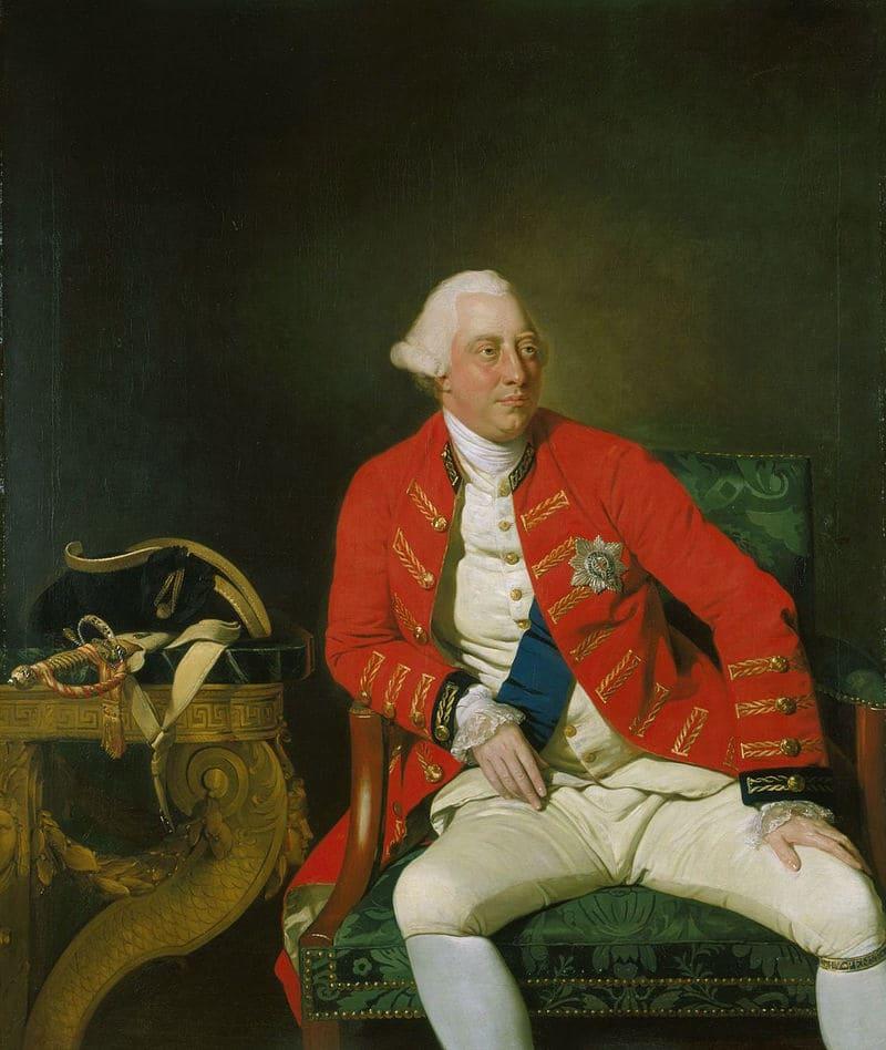 Иоганн Цоффани «Король Георг III в возрасте 33 лет»