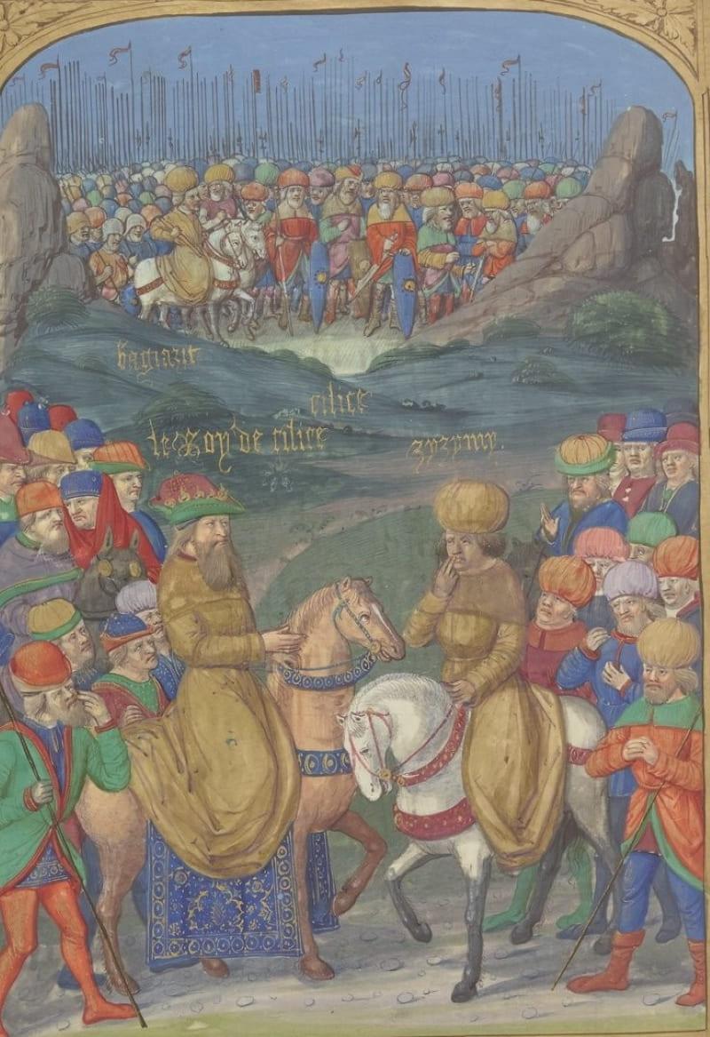 Касым-бей и Джем-султан