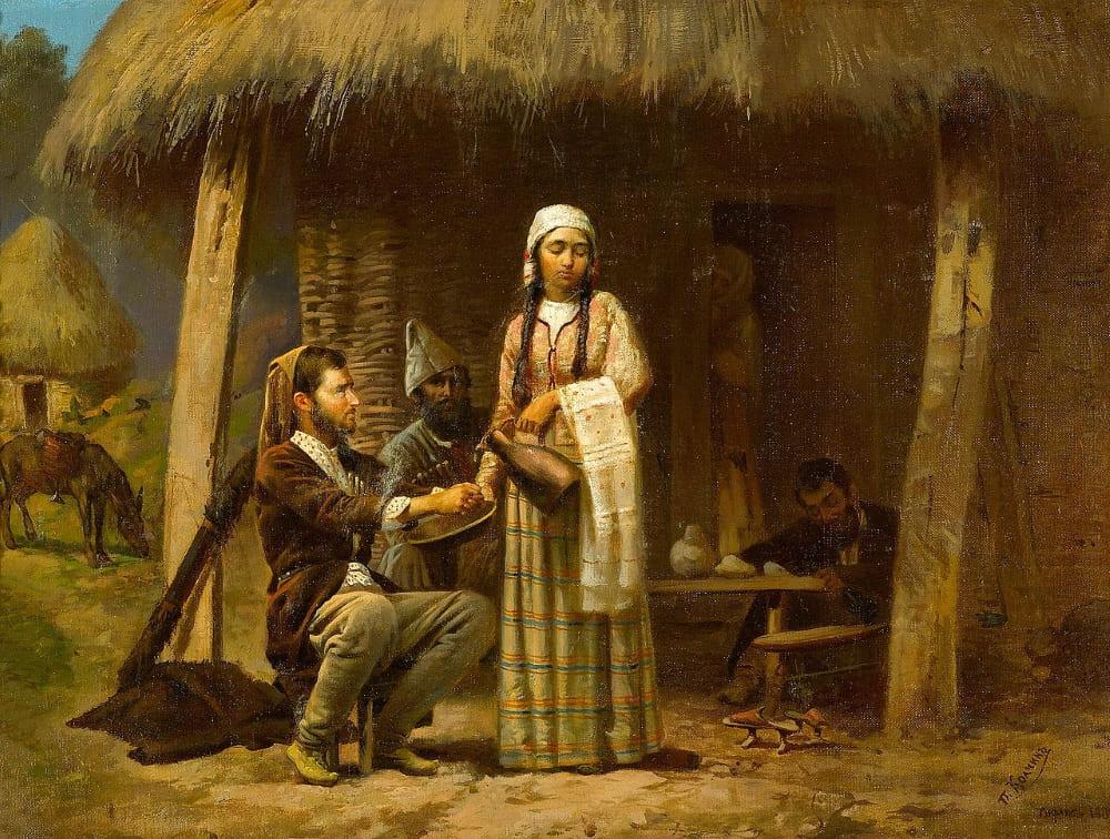 Колчин Пётр Петрович «Благородные намерения», Тбилиси, 1880 год