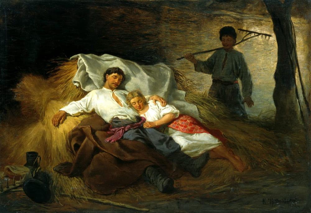 Константин Трутовский «На сеновале»