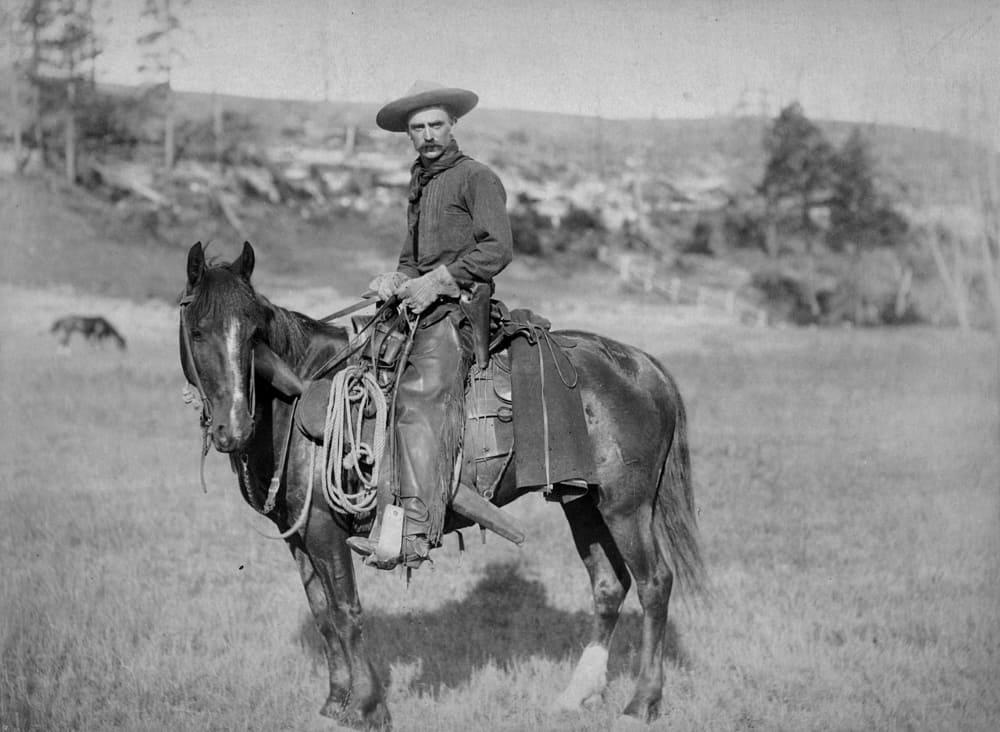 Ковбой в 1887 году
