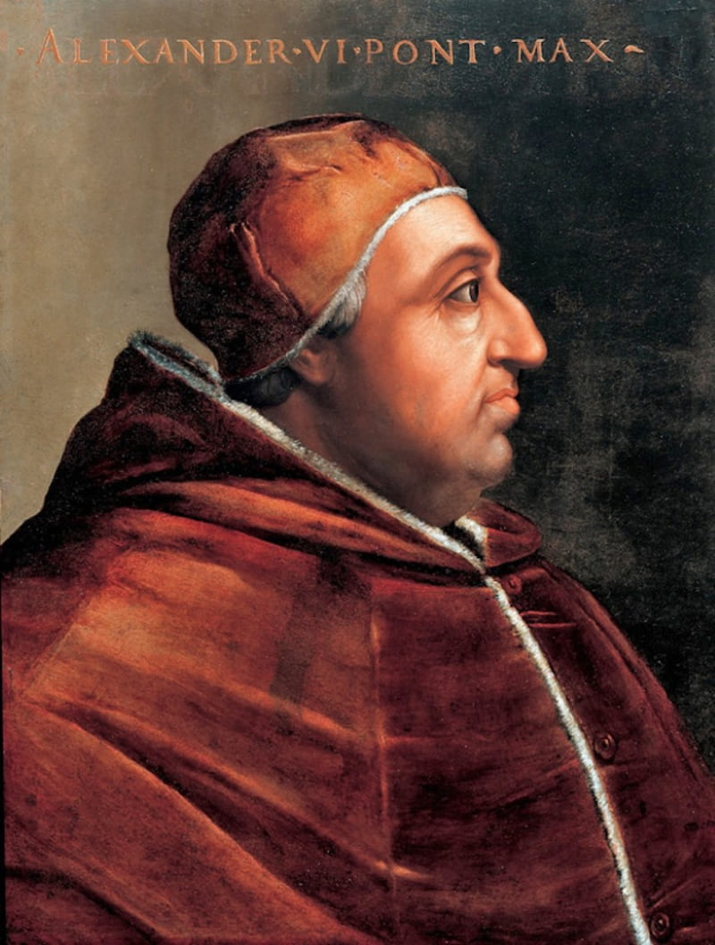 Кристофано дель Альтиссимо «Портрет папы Римского Александра VI»