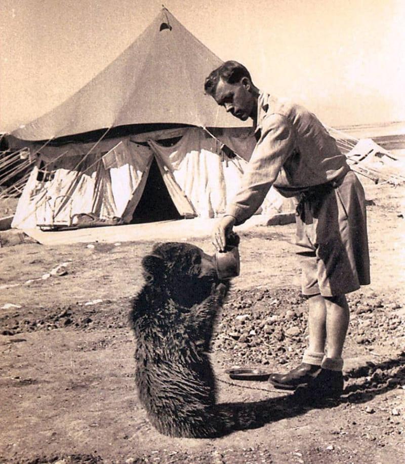 Маленький Войтек в 1942 году