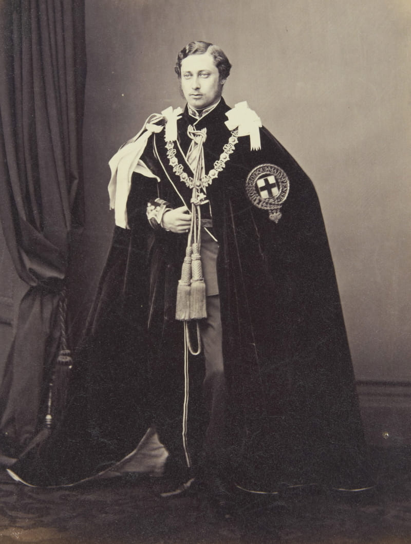 Молодой принц Уэльский, будущий король Эдуард VII