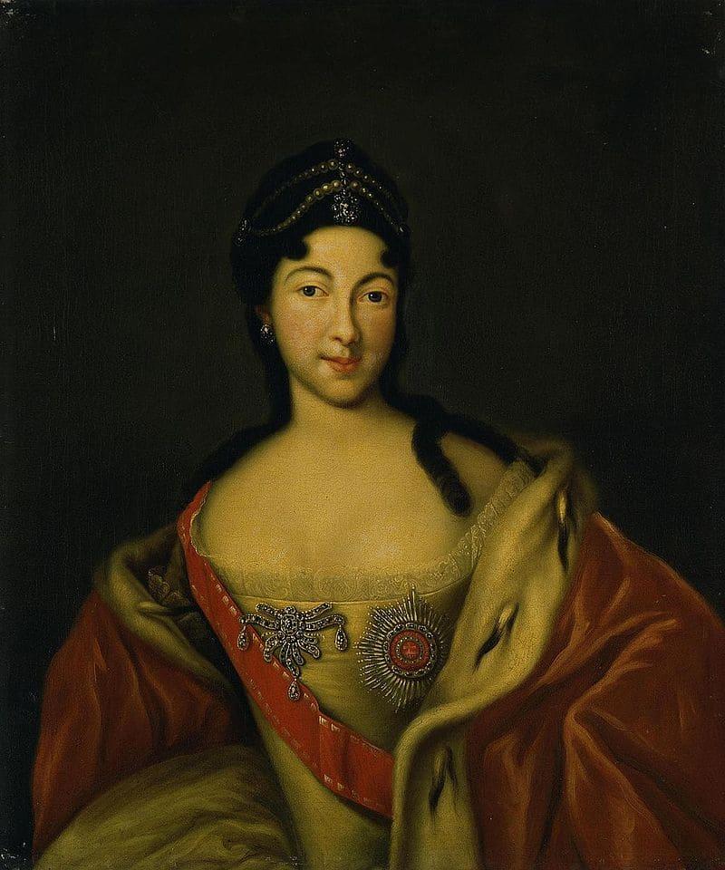 Неизвестный художник «Портрет царевны Анны Петровны»