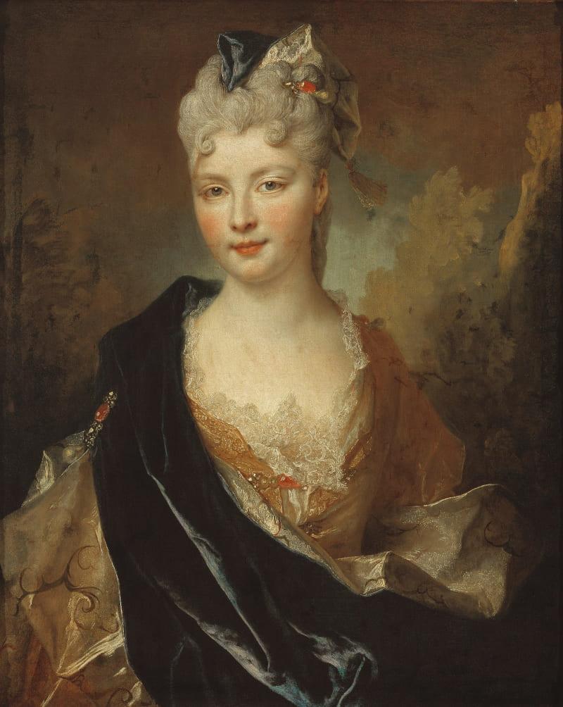 Николя де Ларжильер «Портрет молодой леди», не является портретом Варвары (ее портретов не сохранилось)