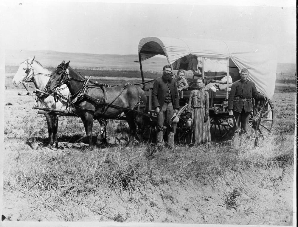 Переселенцы в 1866 году