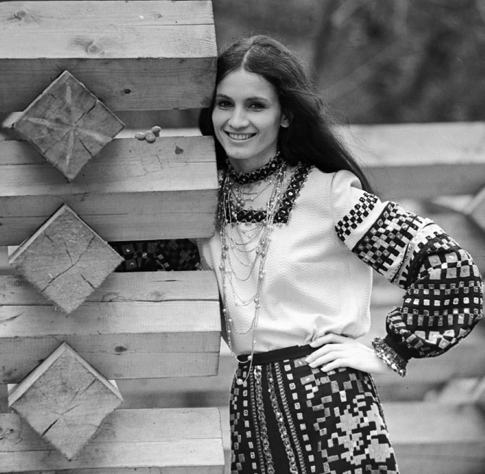 Певица София Ротару - молдаванка по национальности, 1974 год / © Б. Криштул / Sputnik