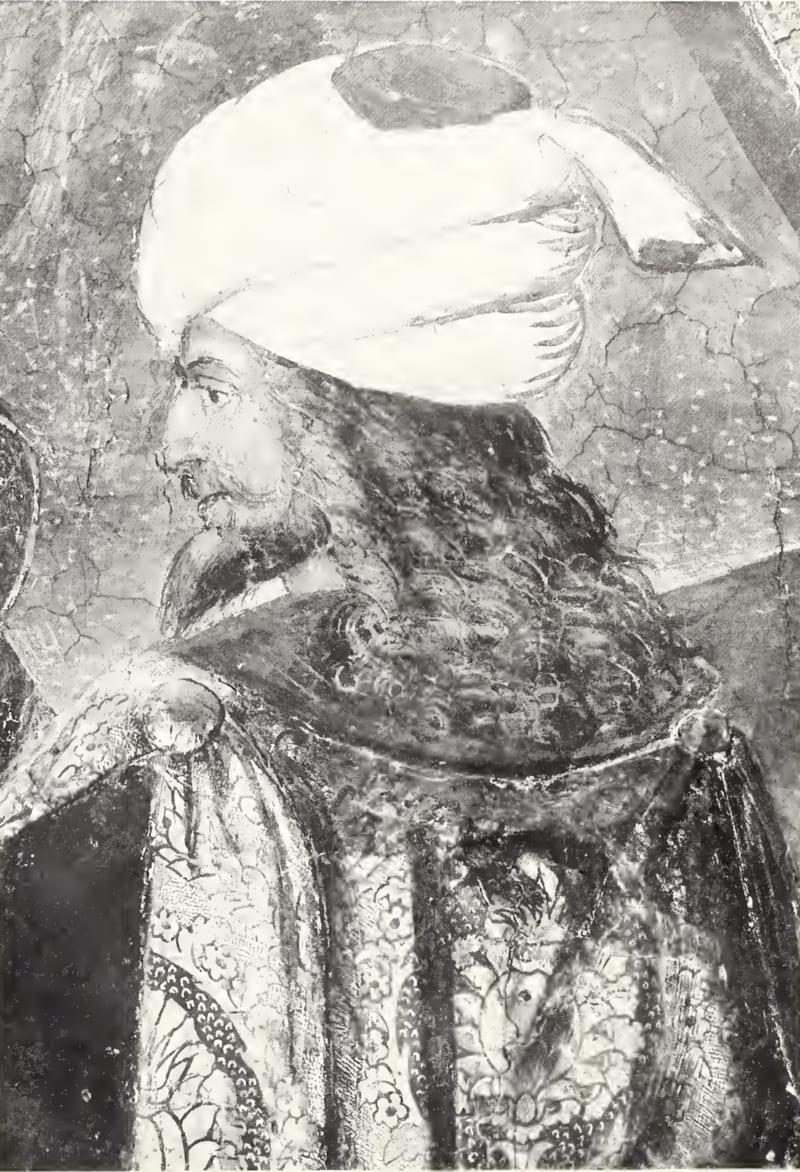 Пинтуриккио «Портрет всадника», идентифицированный как портрет Джема