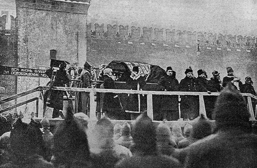Похороны Ленина в 1924 году