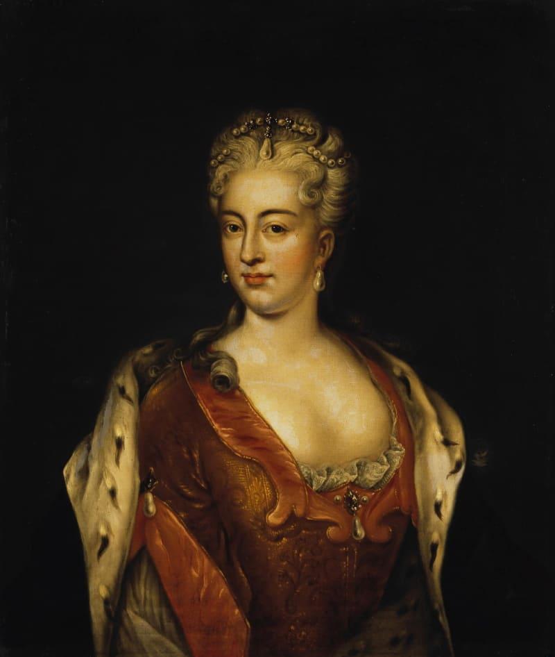 Портрет Шарлотты Кристины Софии, невестки Петра Великого