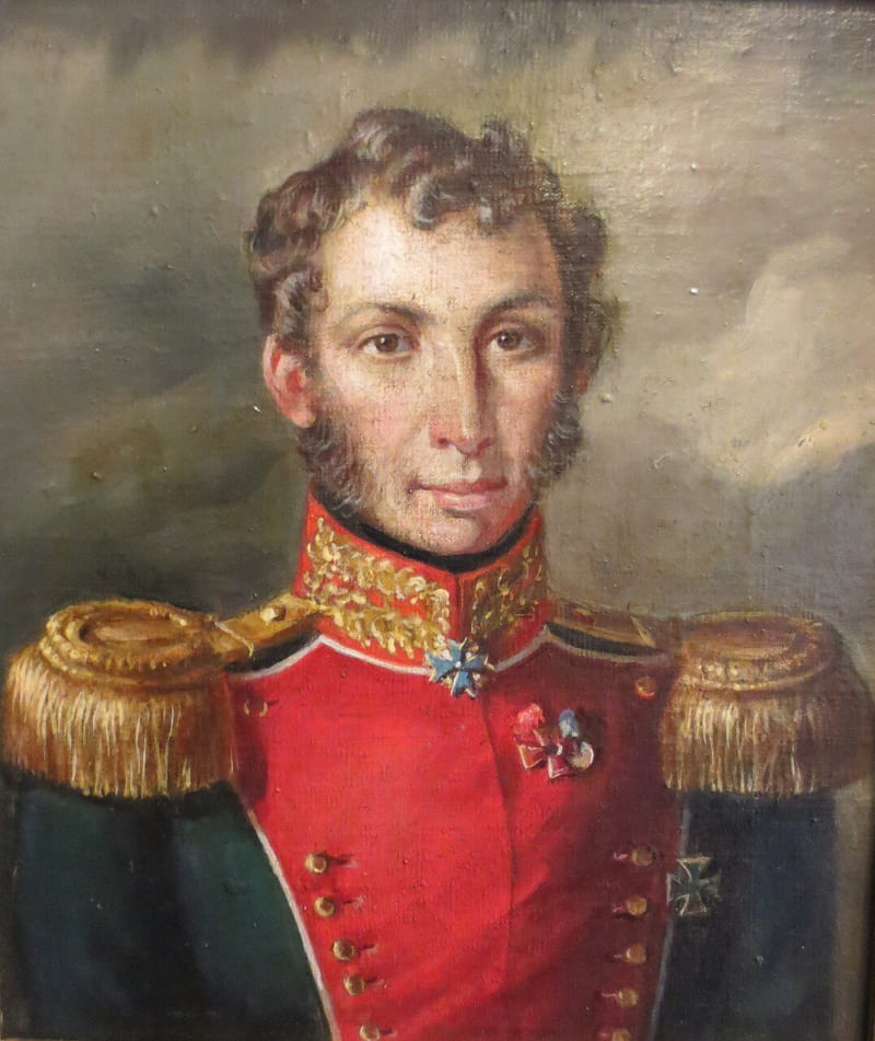 Портрет Сергея Трубецкого