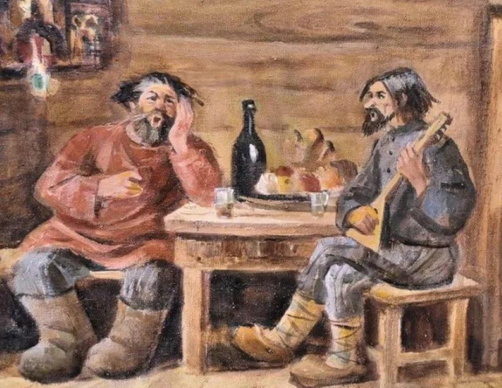Пьянство на Руси
