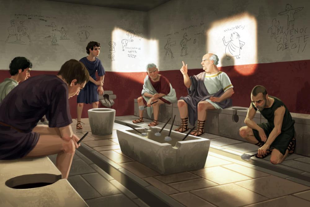 Римский туалет / © Mats Minnhagen / minnhagen.com