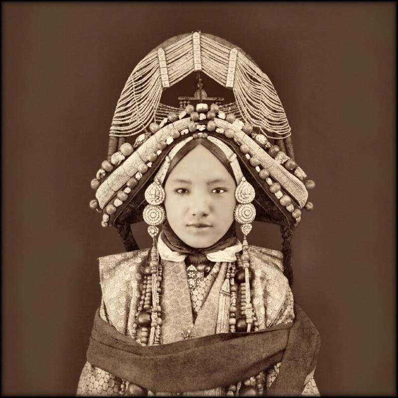 Тибетская принцесса, 1879 год