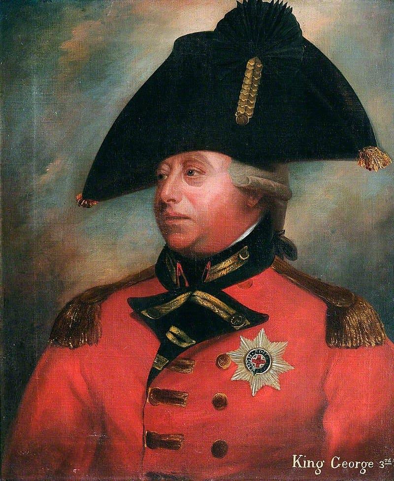 Уильям Бичи «Портрет Георга III», 1800 год