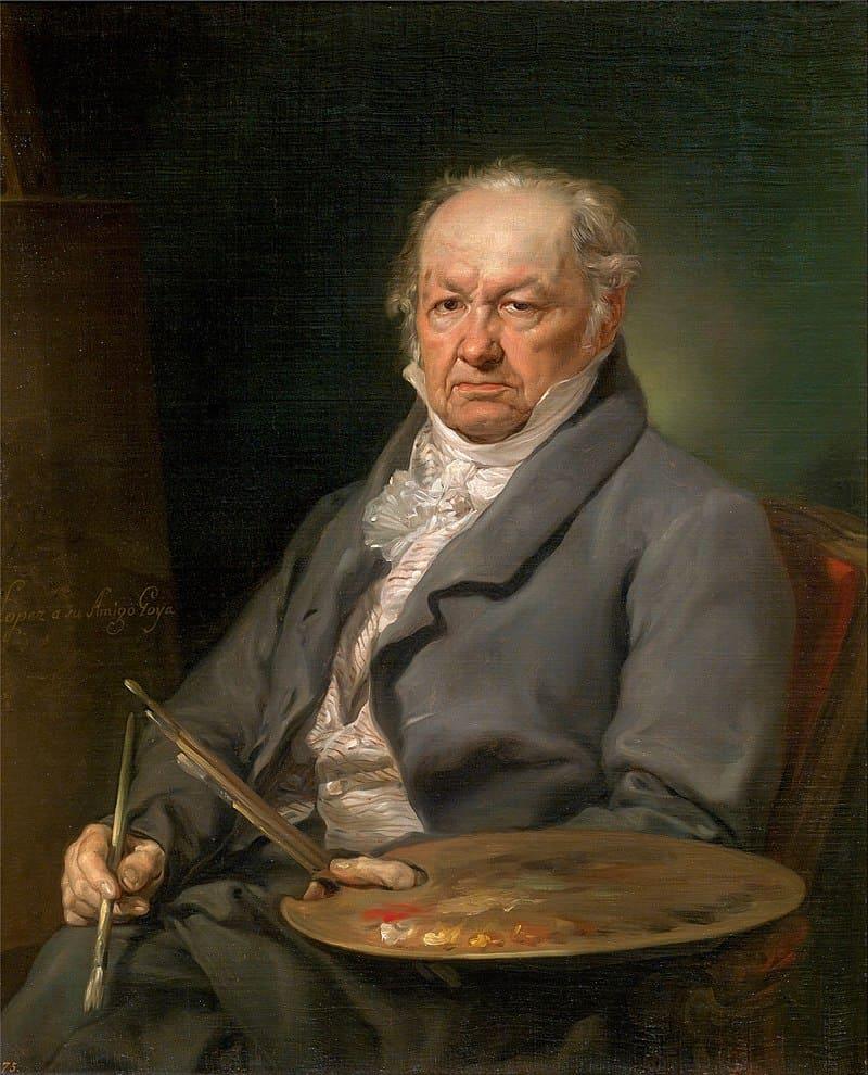 Висенте Лопес-и-Портанья «Портрет Франсиско Гойя»