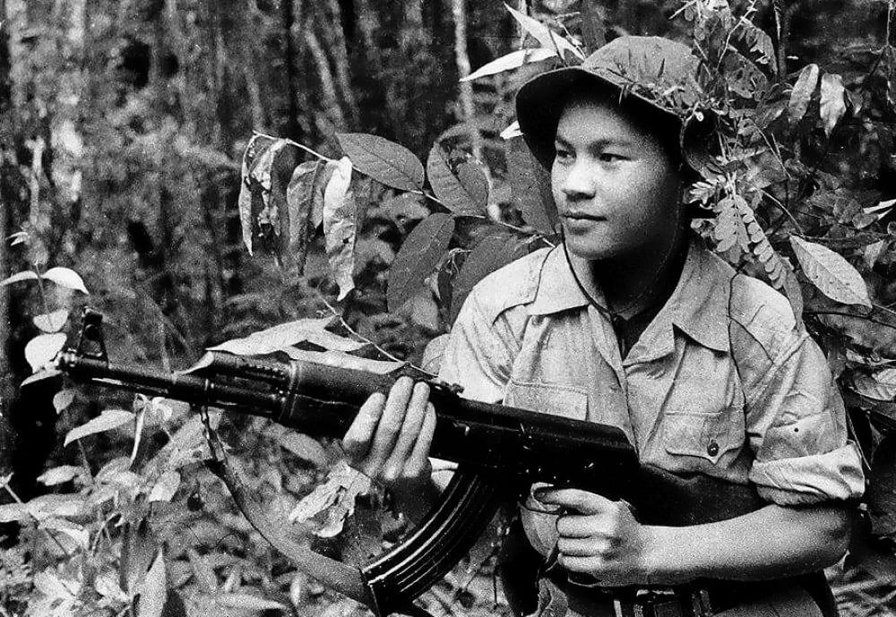 Во время Вьетнамской войны