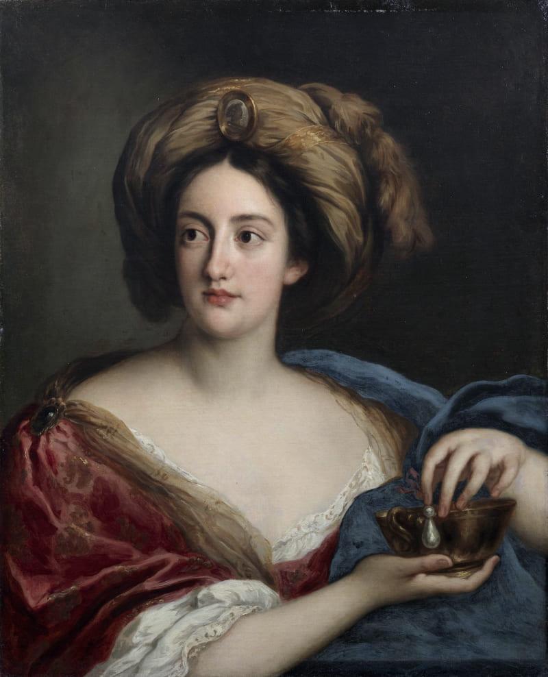 Якоб Фердинанд Вут «Гортензия Манчини, герцогиня Мазарини, в роли Клеопатры», XVII век