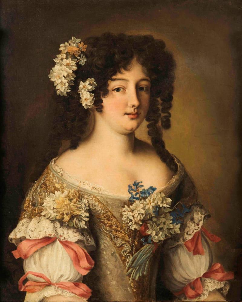 Якоб Фердинанд Вут «Портрет Гортензии Манчини», между 1670 и 1700 годами
