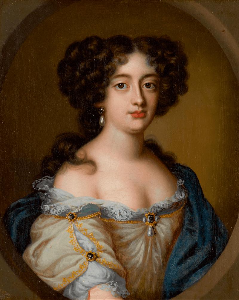 Якоб Фердинанд Вут «Портрет Гортензии Манчини, герцогини Мазарини», XVII век