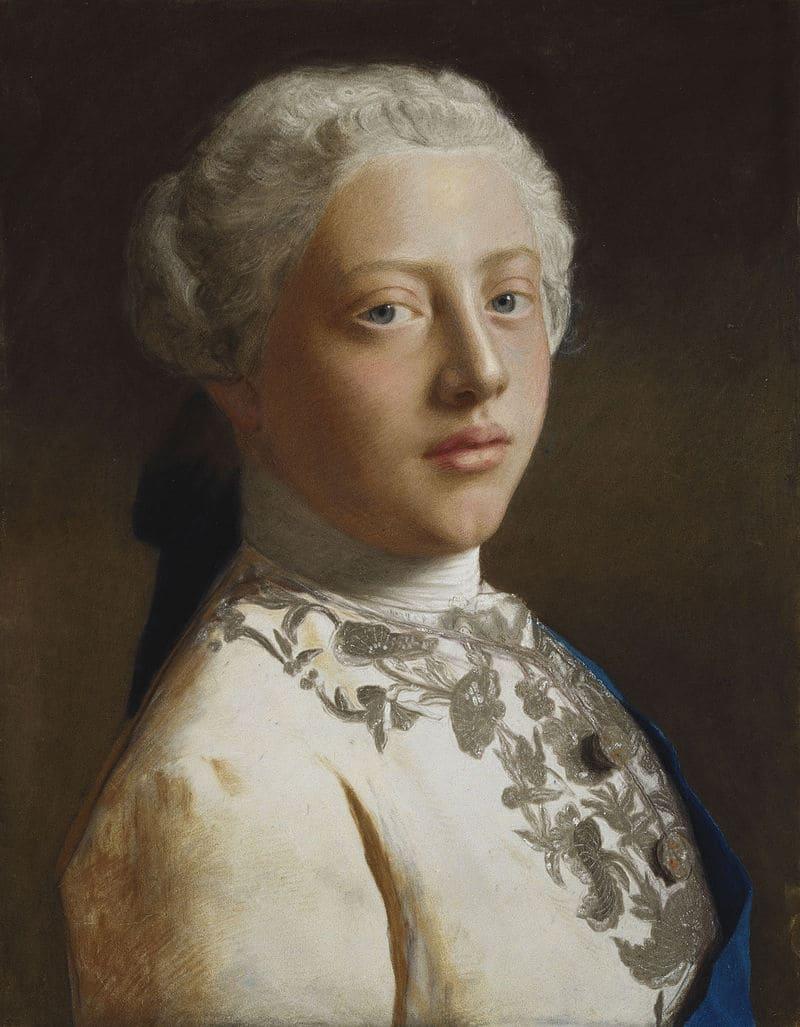 Жан Этьен Лиотар «Портрет 16-летнего Георга, принца Уэльского, впоследствии Георга III»