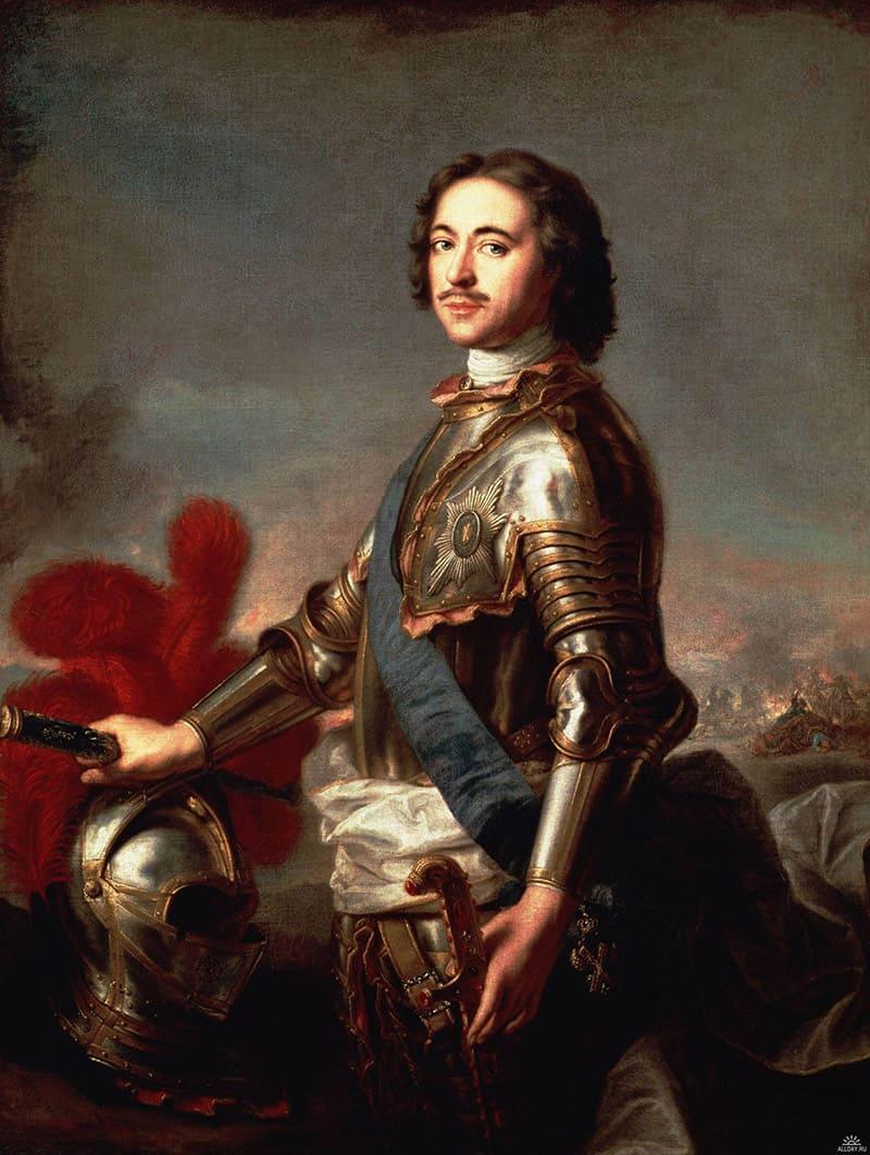 Жан-Марк Натье «Портрет Петра Первого в 1717 году»