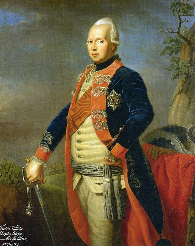 Анна Доротея Тербуш «Фридрих Вильгельм II Прусский в молодости»