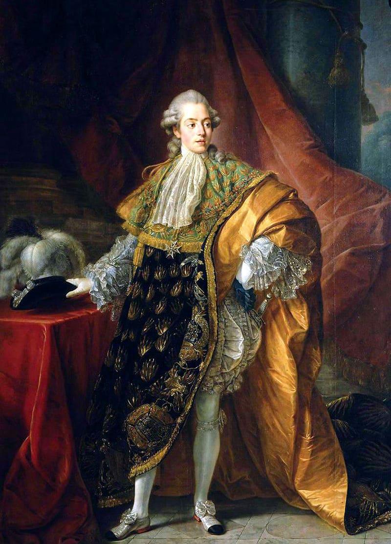 Антуан-Франсуа Калле «Портрет графа д'Артуа (будущего короля Карла X)»