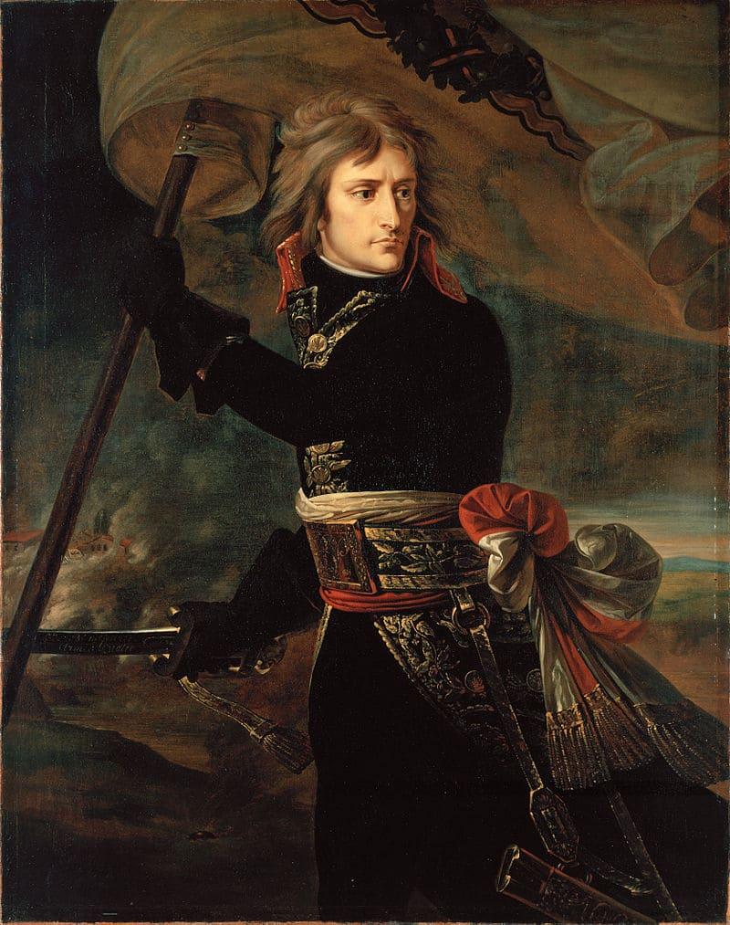 Антуан Жан Гро «Портрет Наполеона I Бонапарта»