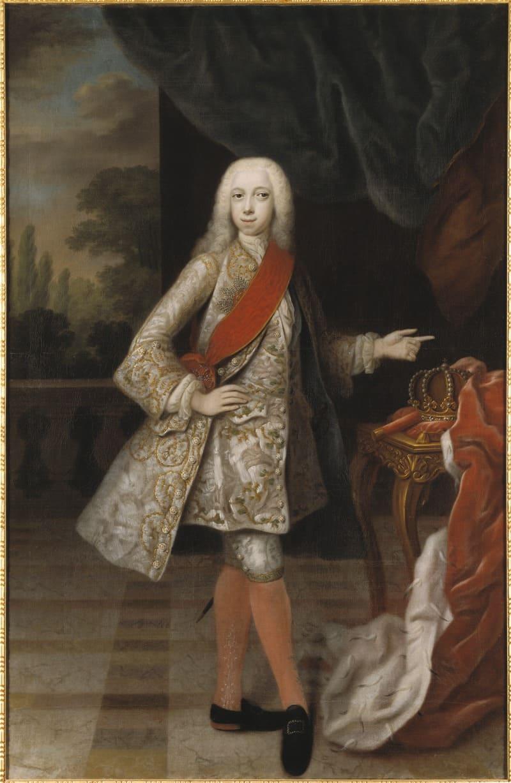 Бальтазар Деннер «Портрет юного Карла Петера Ульриха (Петр III)»